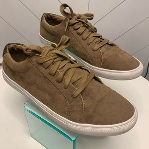 Topman Brown Taupe Sneakers 12 Mens Shoes